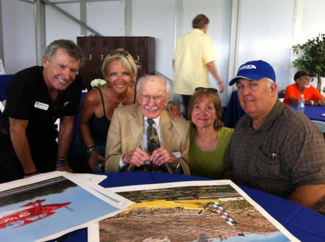 Bob Hoover, Patty Wagstaff and gang at SnF 2013