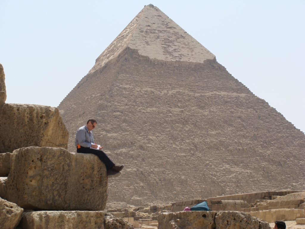 Norman Surplus at the Pyramids