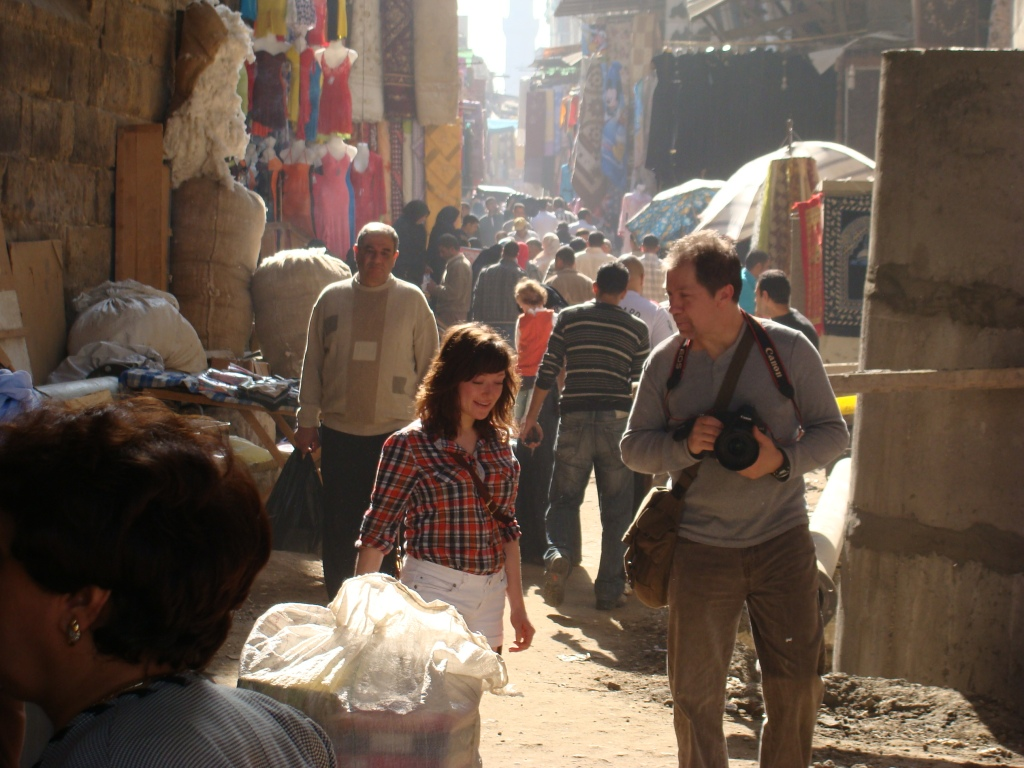 G.A.S.E. gave Steve Owen and his daughter, Lauren, the full sight seeing package including his favourite choice, the back streets of Cairo.