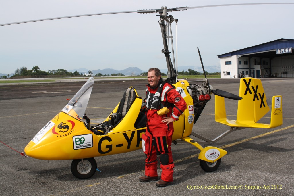Norman Surplus and MT-03 Autogyro, G-YROX 'Roxy'