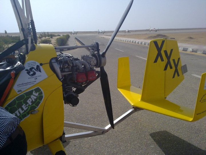 The Autogyro's powerplant: A Rotax 914