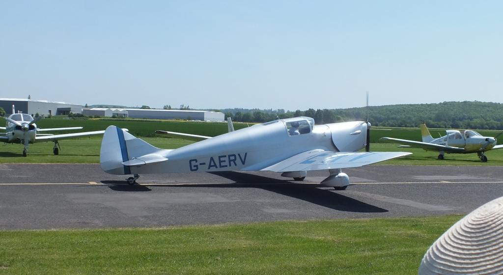 G-AERV, a Miles Whitney Straight from 1936