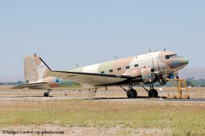 Photo: Eric Van Gilder - http://vg-photo.com/A former IAF Douglas Dakota / C-47.