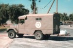 Photo: Author's collectionAn IDF ambulance in late 2002.