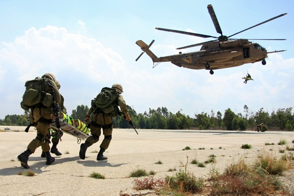 Photo: IDF.com / IDF SpokesmanIAF Unit 669 during a training exercise.