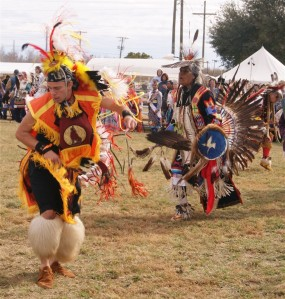 Native American dancers perform traditional dances in Auburndale.Photo: John Stemple