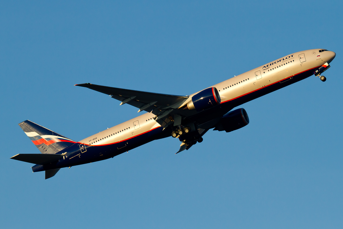 Areoflot Russian Airlines B-777