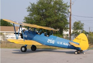 Preston Aviation's Stearman.Photo: John Stemple