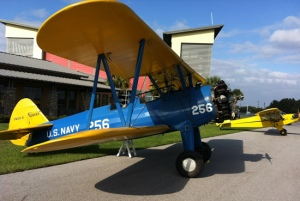 Preston Aviation's Stearman PT-17 and Piper Cub. Photo: Preston Aviation